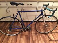 VINTAGE LIGHTWEIGHT HAND BUILT ROAD RACING BIKE IDEAL COMMUTER DELIVEROO COURER