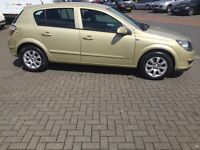 Astra 2005 1.6 manual 3 months free warranty and break down cover