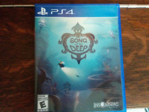 Song of the deep Ps4 Great Condition