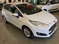 2015 Ford Fiesta 1.25 ZETEC-5DR-WHITE-2 KEYS-LOW MILES-GREAT LITTLE FIRST CAR Ha