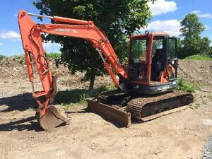 KUBOTA KX161 W/ATTACHMENTS