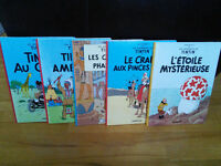 Tintin Excellent etat - 23 Albums - Lot BD - No Spirou