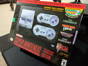 SNES Classic Console - Modded with 170 Games! - Brand New