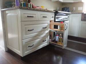 Kitchen remodeling Home Renovations Oak Stairs and railing Kitchener / Waterloo Kitchener Area image 2