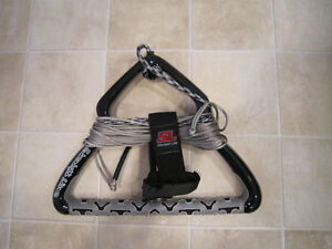 Straightline Eclipse competition solid handle and rope.  $100.00