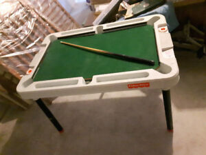 Mini pool table - Fisher Price