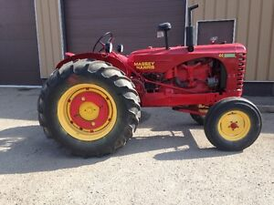 FOR SALE - 1949 Massey Harris 44 Gas Tractor
