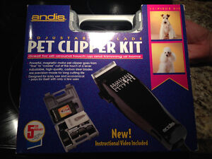 Pet clipper set