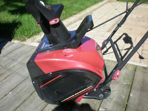 King Canada 18-inch Electric Snow Thrower Peterborough Peterborough Area image 1