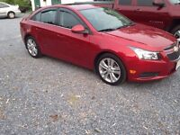 2014 CHEVY CRUZE LEASE TAKE OVEE