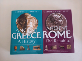 Ancient Rome & Ancient Greece Books