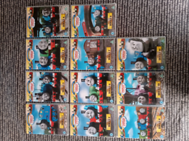 Thomas and Friends DVD collection.