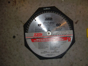 "SAW BLADES circular 10"" carbide tipped--- 2---REDUCED-$40.00 Belleville Belleville Area image 2"