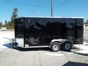 SALE PRICING!! 7 x 14 Tandem Axles Double Rear Doors Stock #1783