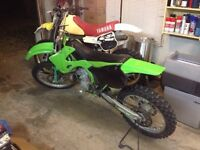 Wanted 2001 kx250 parts