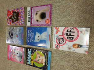 Lot of 7 girls books the princess diaries and icefire