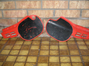 1981-1983 CR side # plate plastics