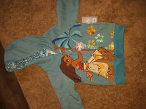 MOANA zip up hoodie from Disney store brand new