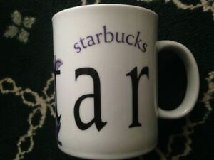 STARBUCKS CITY MUG COLLECTOR series QATAR! Trade for Starbucks