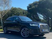 2016 Audi Q7 3.0 TDI V6 S line Tiptronic quattro (s/s) 5dr SUV Diesel Automatic