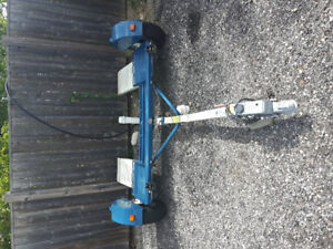 2015 Stehl car tow dolly with surge brake gently used.New tires