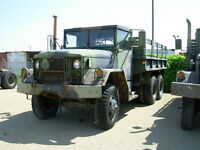 im looking for a  older army truck 6x6