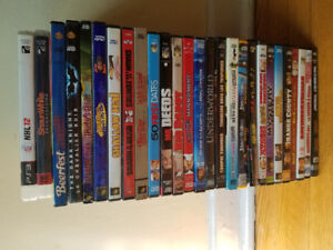 Assorted DVD's