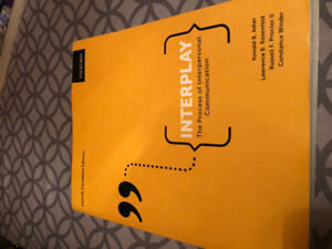 Interplay: The Process of Interpersonal Communication 4th Ed.