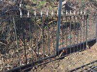 Cast iron panels and gates
