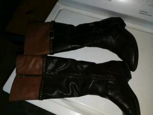 Beautiful high boots size 8