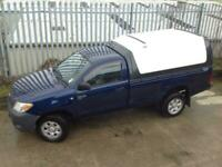 2006 TOYOTA HILUX SINGLE CAB S/C 2.5 D4-D MANUAL DIESEL 4X4 BLUE