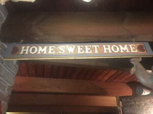 Home Sweet Home sign Cambridge Kitchener Area image 1