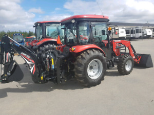 2018 Mccormick x1.45 with backhoe