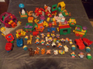 Huge Fisher-price Little People lot