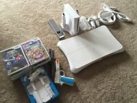 Wii console with lots of goodies included!