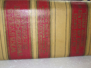 Webster's Dictionary, 1937, 20th Century Unabridged West Island Greater Montréal image 4