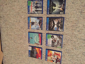 PS 4 GAMES FOR SALE PLEASE CALL OR TXT FOR PRICES Windsor Region Ontario image 1