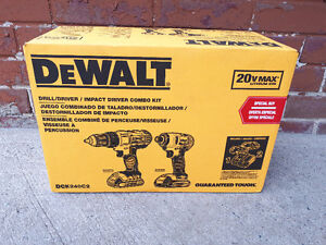 Dewalt 20V Max Lithium Ion Drill. Brand New In Box.