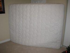 NEW White Matrand Latex plush mattress with mattress cover
