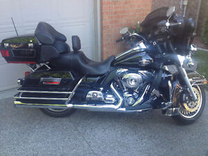 Black 2010 Ultra Classic with Low Miles and Upgrades-Offers???