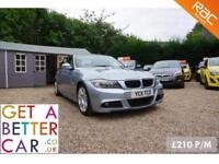BMW 318 D MSPORT AUTOMATIC - 11 REG - 56K - £210 PM - NO DEPOSIT CAR FINANCE