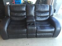 Movie style couch and love seat