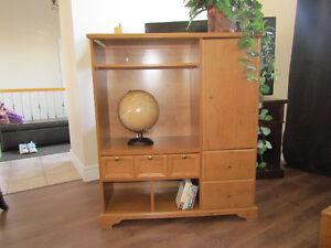 3 morceaux meuble tv,table de salon centrale,+1table pour lampe