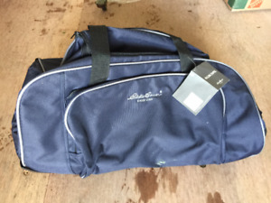 Eddie Bauer Rolling Duffel Bag - Brand New with tags