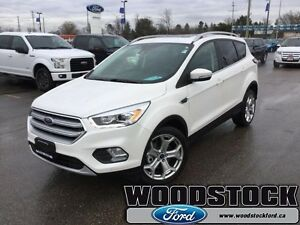 2017 Ford Escape Titanium   NAVIGATION, TWIN PANEL MOONROOF, SYN
