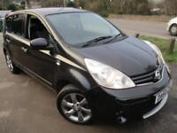 2011 NISSAN NOTE N-TEC SAT/NAV , CRUISE , CLIMATE . MPV (MULTI-PURPOSE VEHICLE)