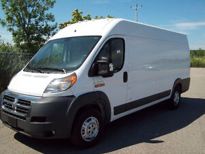 2016 Ram promaster Cargo 3500 high roof allonge