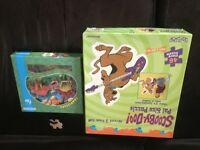 Giant Scooby Doo Puzzle and wooden Dinosaur Puzzle