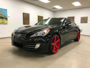 "Hyundai genesis 3.8 low km with beautiful 20"" str racing rims"