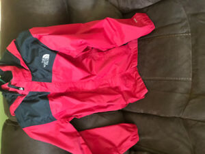 North Face Rain Jacket Size XL Youth